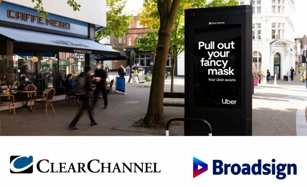 Partenariat Clear Channel et Broadsign